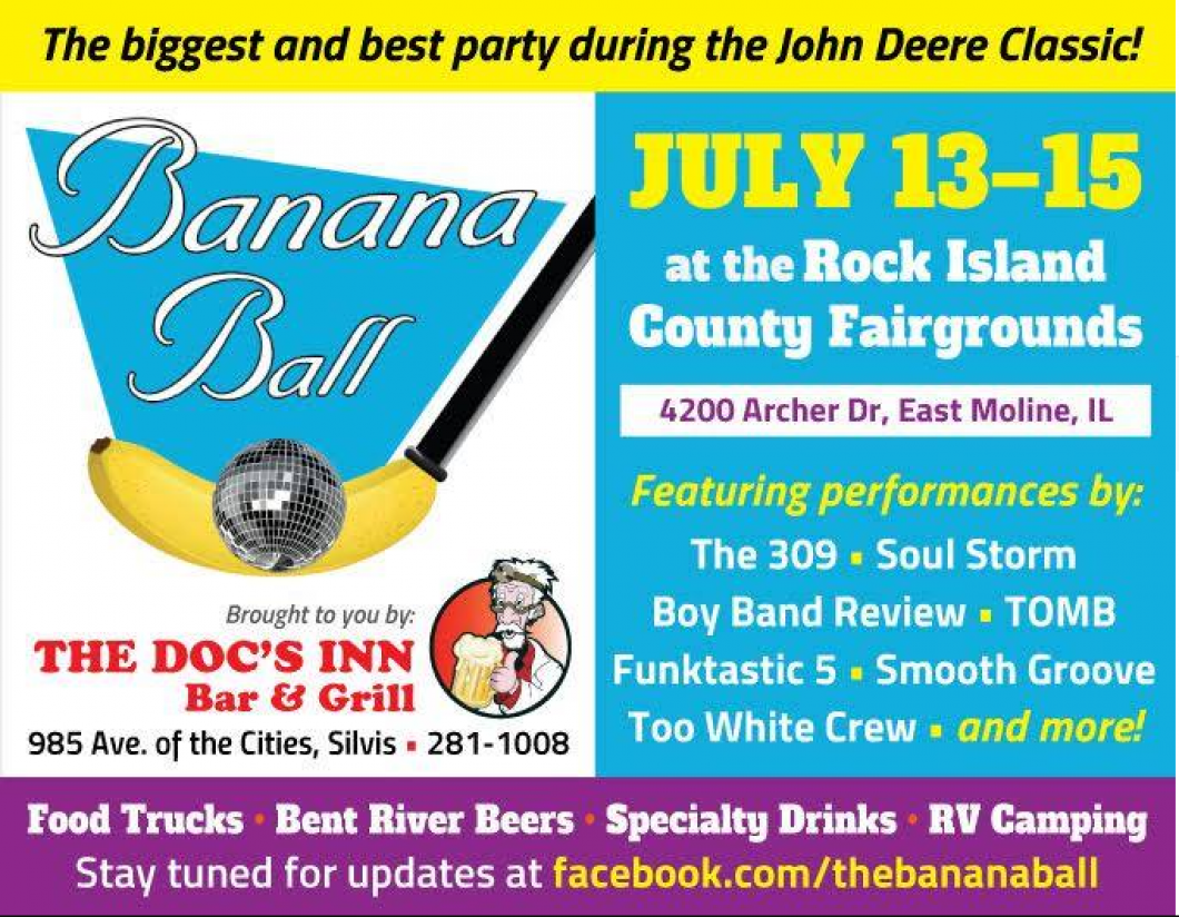 Come Join Us for The Banana Ball!
